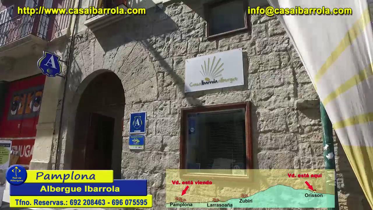 Pamplona  Albergue Ibarrola