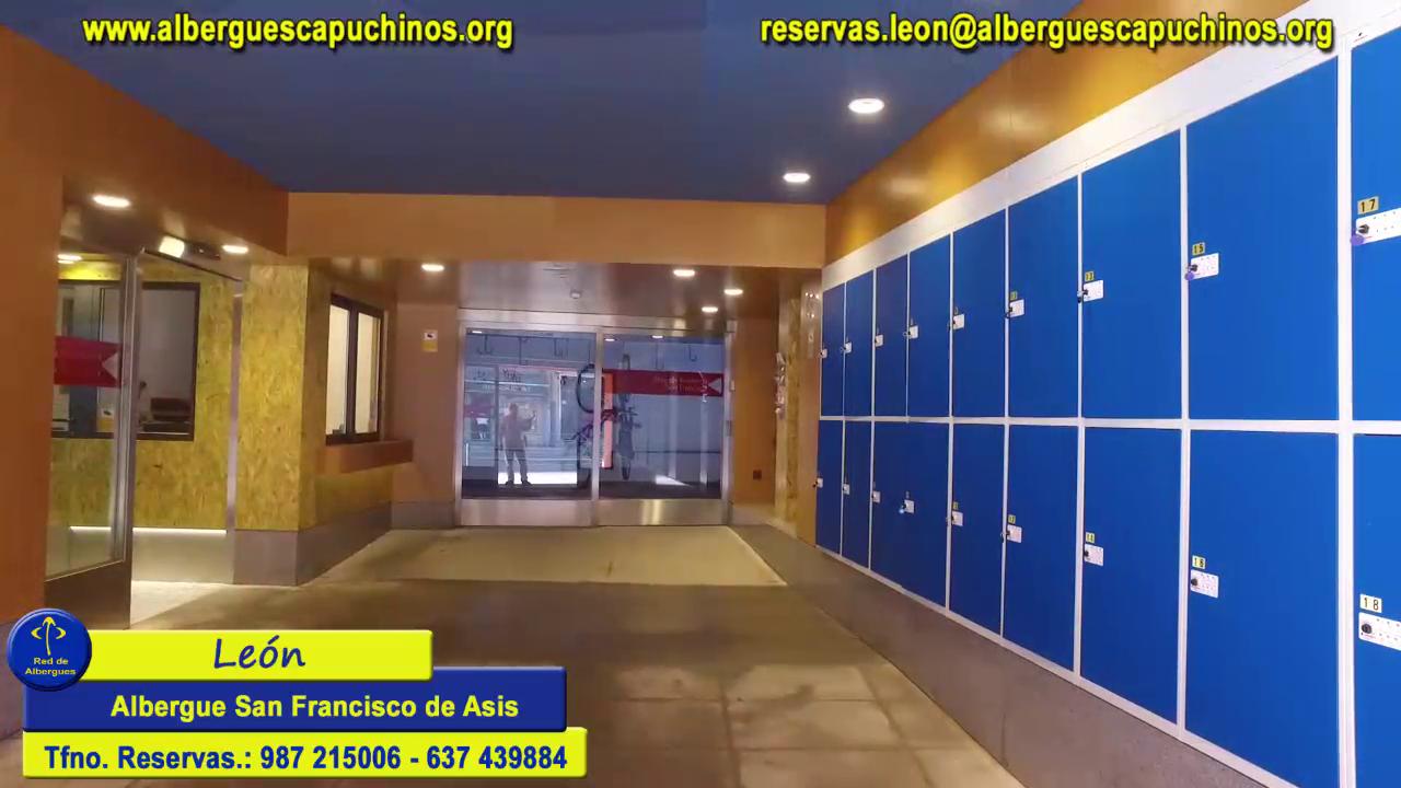 León albergue San Francisco de Asis