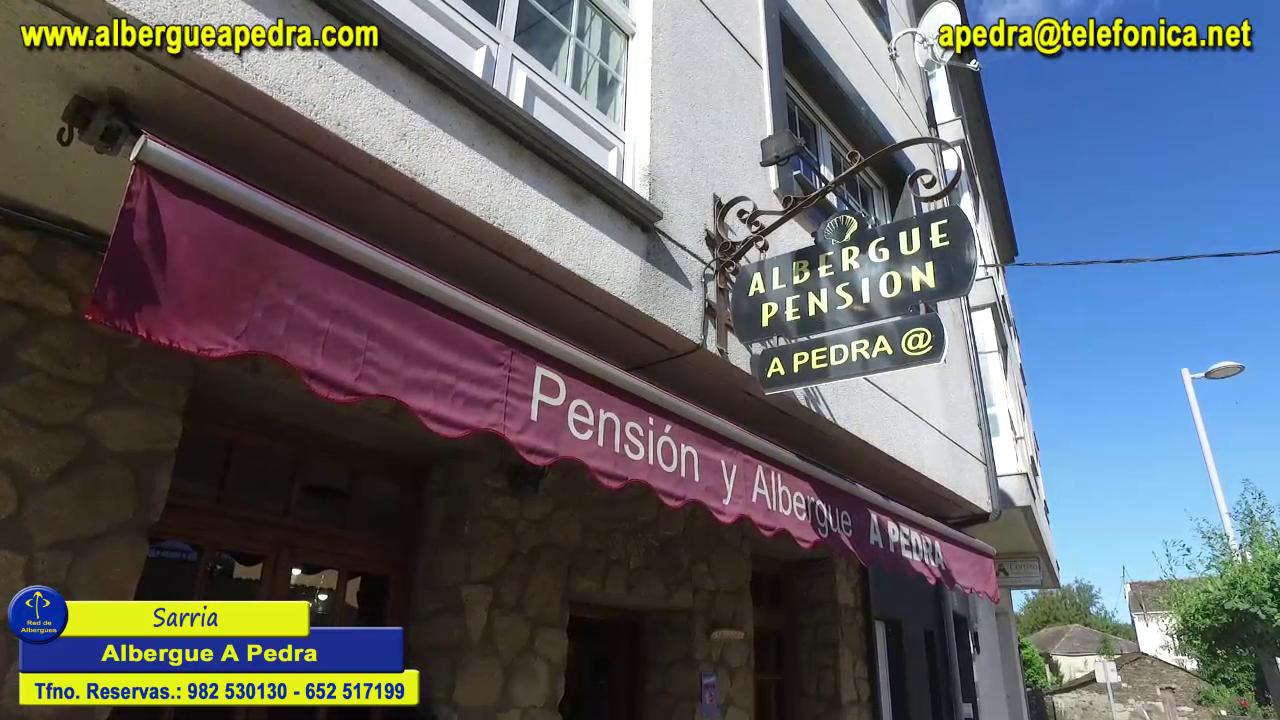 Sarria Albergue A Pedra Subtitulado español