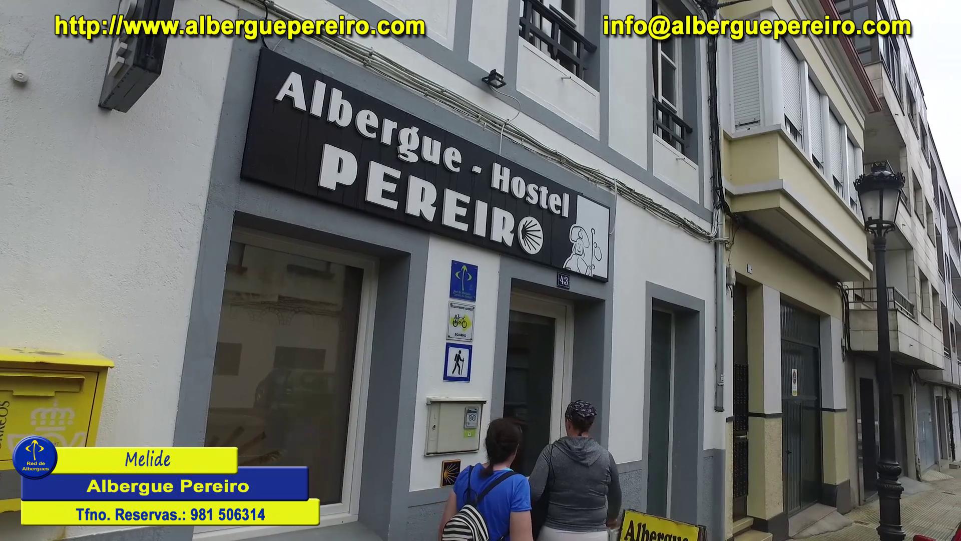 Melide albergue Pereiro