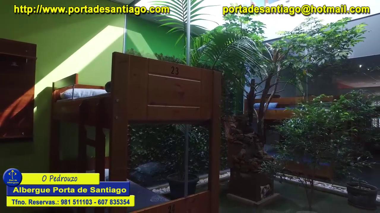 O Pedrouzo albergue Porta de Santiago