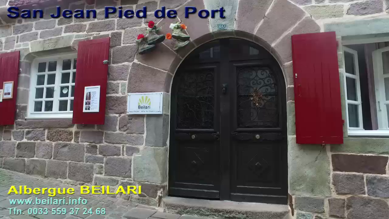 red de Albergues San Pied de Port - Beilari