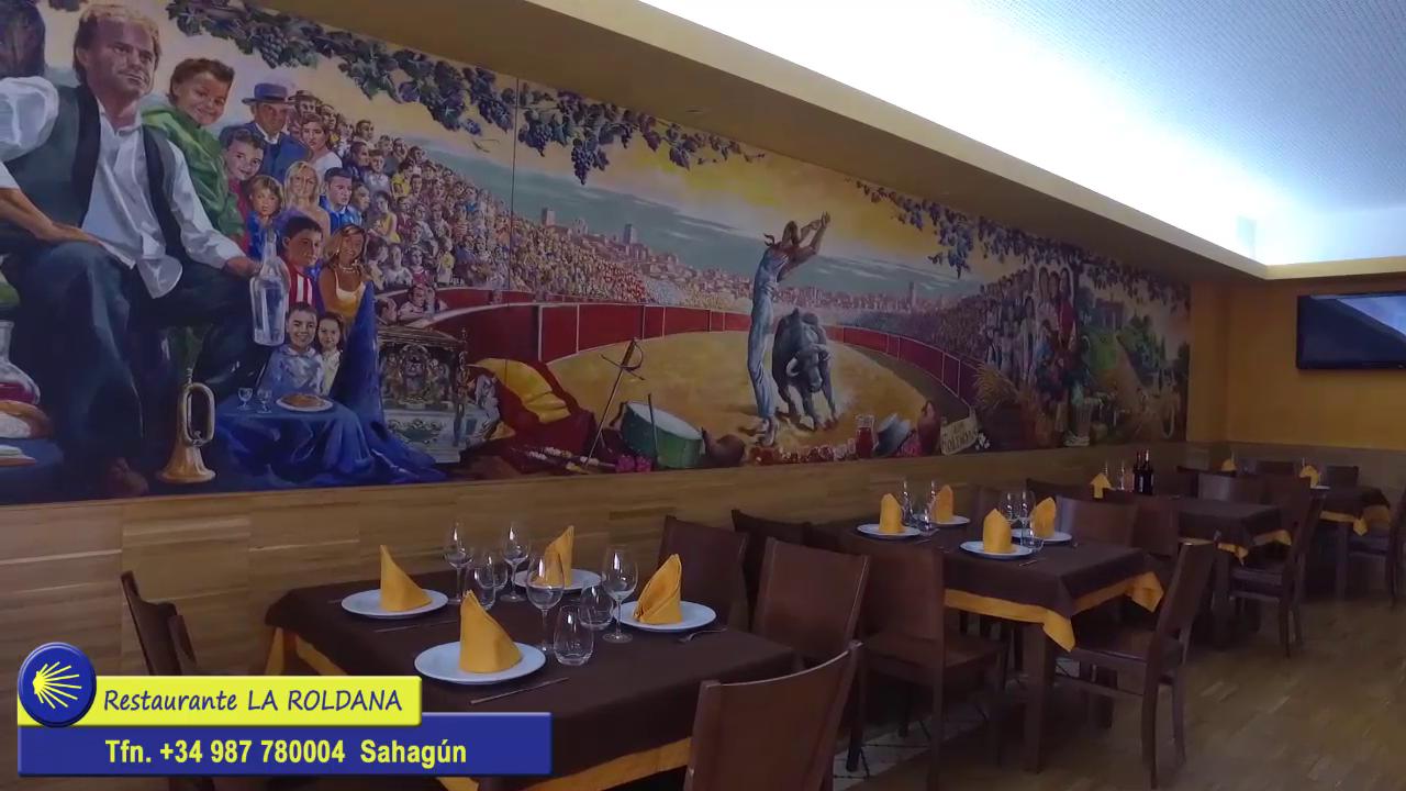 Sahagun Restaurante la Roldana